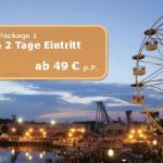 2 Tage Movie Park Eintritt mit Übernachtung im Hotel für 49€