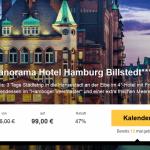 3 Tage im 4 Sterne Panorama Hotel Hamburg Billstedt mit Hafenrundfahrt für 99 Euro