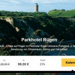 3 Tage Rügen im 4 Sterne Parkhotel mit Frühstück für nur 99€