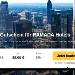 2 Übernachtungen zu zweit mit Frühstück in einem von 13 RAMADA Hotels für 99€