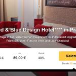 3 Tage Prag im 4 Sterne Red & Blue Design Hotel mit Frühstück für nur 59€