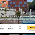 4 Tage Wellness-Urlaub Kroatien im 4 Sterne Hotel Spa & Sport Sveti Martin für nur 42€