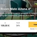 3 Tage Amsterdam im 4 Sterne Hotel Room Mate Aitana für nur 109€