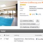 3 Tage Boltenhagen im 4 Sterne Seehotel Großherzog von Mecklenburg mit Frühstück für 109€