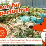 3 Tage im 4 Sterne Hotel inkl. Frühstück + Eintritt ins Tropical Island für nur 92€