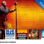 Musicalkarten für verschiedene Musicals mit Übernachtung für nur 99 Euro