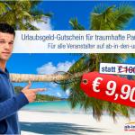 100€ Urlaubsgutschein bei ab-in-den-urlaub.de ohne Mindestbuchungswert für 9,90€