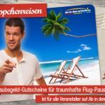 100€ ab-in-den-urlaub.de Gutschein für nur 9,90€  – günstige Reisen buchen!