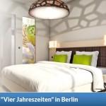 2 Übernachtungen für 2 Personen im 3 Sterne Design-Hotel Vier Jahreszeiten in Berlin für 99 Euro